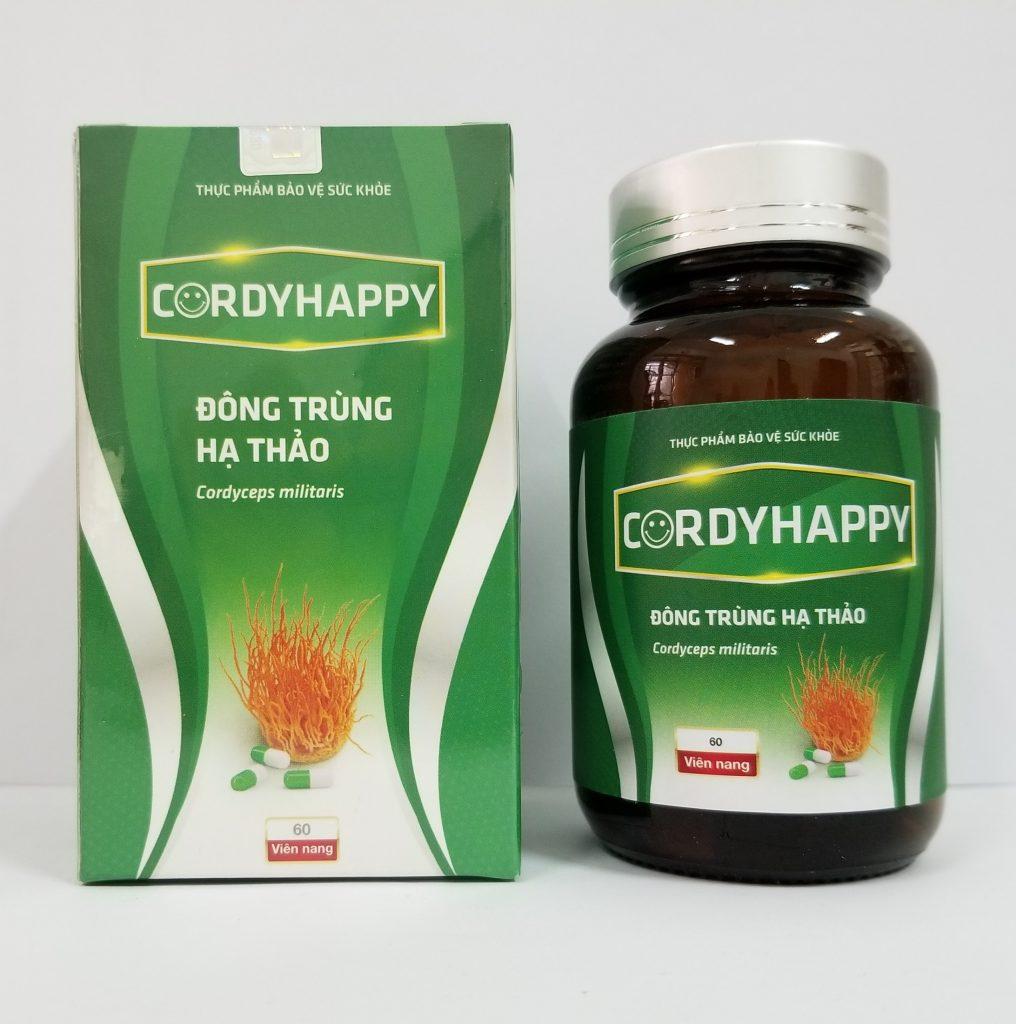 Viên nang Đông trùng Hạ thảo CordyHappy