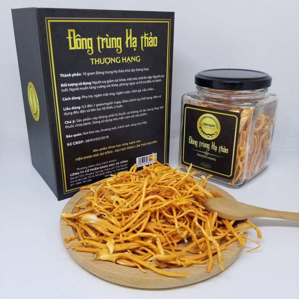 Đông trùng Hạ thảo CordyHappy khô 10 gram