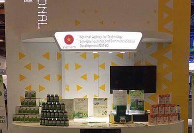 Đông trùng Hạ thảo CordyHappy tham dự Triển lãm Taiwan Innotech Expo 2018 tại Đài Loan