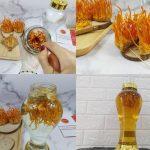 Cách ngâm rượu Đông trùng Hạ thảo