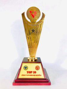 CordyHappy Top 50 Doanh nghiệp Việt Nam điển hình sáng tạo 2020