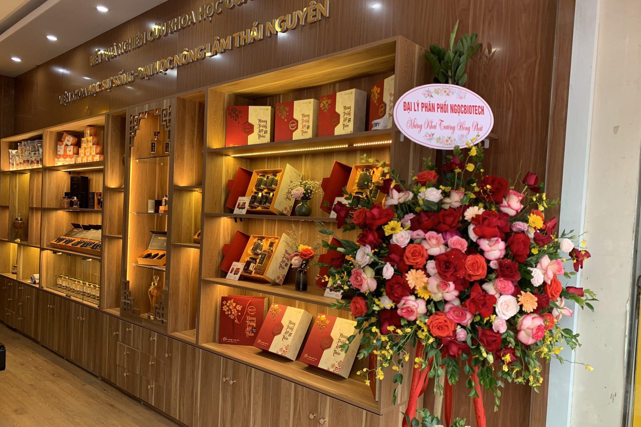 Khai trương Showroom Đông trùng Hạ thảo CordyHappy tại Thái Nguyên
